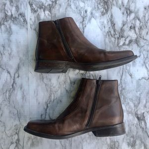 Aldo Shoes - Men's • Ankle Aldo Square Toe Brown Boots